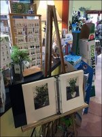 Garden Center Artist Easel Presentation In-Store