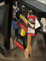 Char-Broil Grill Utensils Ride Sidesaddle