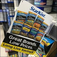 Starkist Tuna Shelf-Edge Brand Flag
