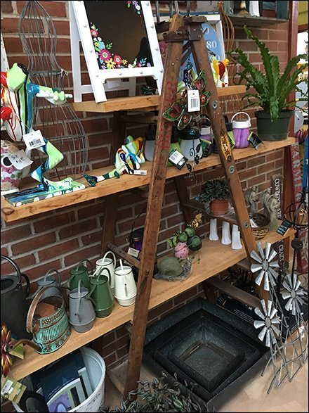George Burger & Sons Garden Center Outfitting