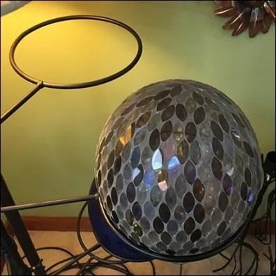 Garden Disco Ball Adjustable Ring Hook Outfitting