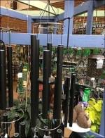 Wind Chime Indoor Pergola Wood Display
