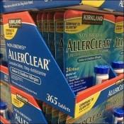 Kirkland Aller-Clear Pallet Merchandising