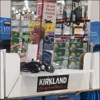 Kirkland Sunglasses Pallet Built-In Mirror