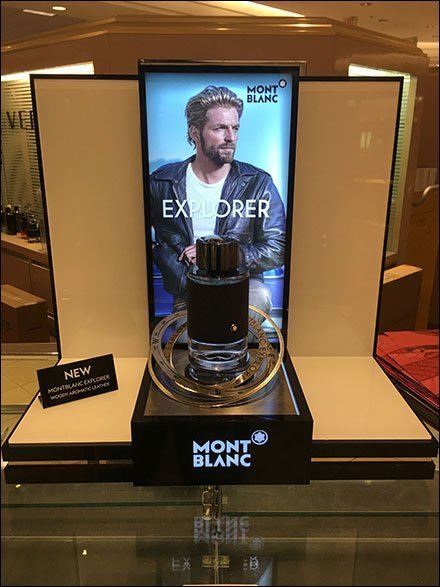 Manly Montblanc Explorer Countertop Display