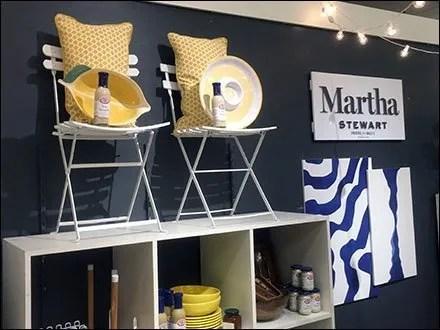 Martha Stewart Summer Merchandising Theme