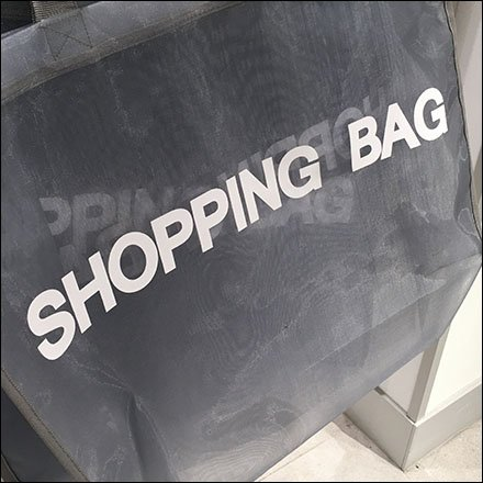 Mesh Shopping Bag T-Stand Outfitting