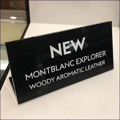 Montblanc Explorer Compass Rose Detail