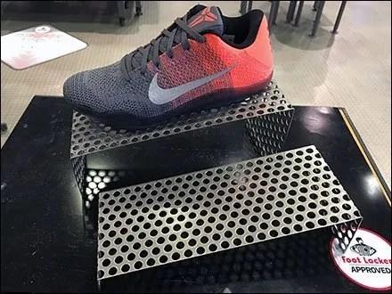 Nike Sneaker Perforated Riser Starting Blocks