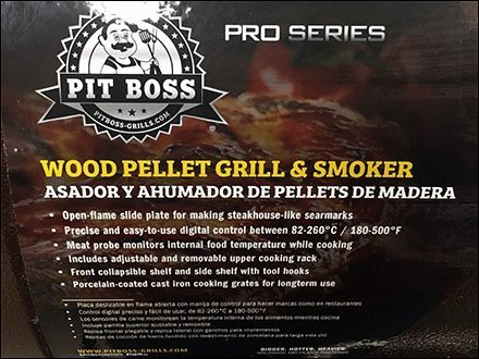 Pro-Series Pit Boss Pellet Grill Branding