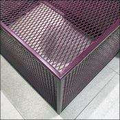 Purple Expanded Metal Display Base