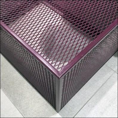 Purple Expanded Metal Display Base