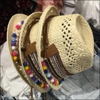 Summer Straw Hat Visual Merchandising Focus