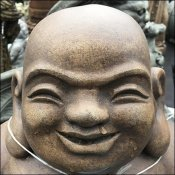 Smiling Hoi Toi Or Laughing Buddha Statuary