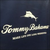 Tommy Bahama Canvas Cart Cover Branded