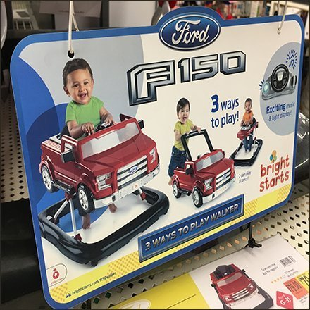 Branded Ford F150 Shelf-Edge Sales