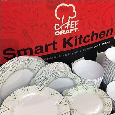 Chef Craft Smart Kitchen Tableware Display