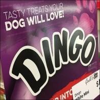 Dingo Dog Treats Rip Into Flavor Display