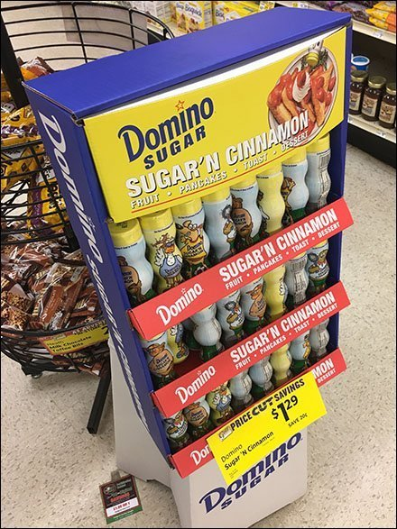 Sugar-and-Cinnamon Combination Merchandising