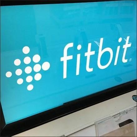 Fitbit Logo Blue Field
