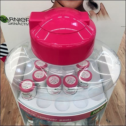 Garnier Micellar Water Museum Case Bottle Top
