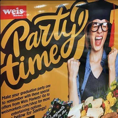 Graduation Party Celebration Time Signage