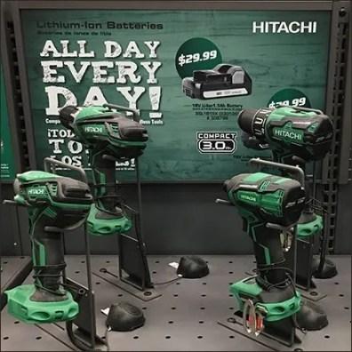 Hitachi Power Tool Counter-Top Drill Display