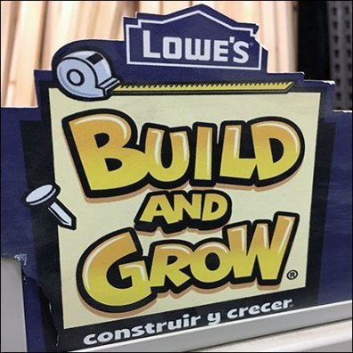 Build-And-Grow Kids Projects Slatwire Display