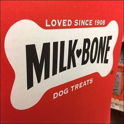 Milk Bone Pet Aisle Promotional Display Feature