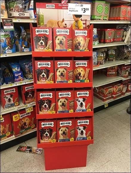 Milk-Bone Pet-Aisle Promotion Display