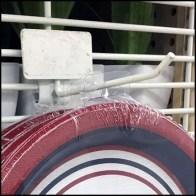 Patriotic Paper Plate PowerWing Grid Hook
