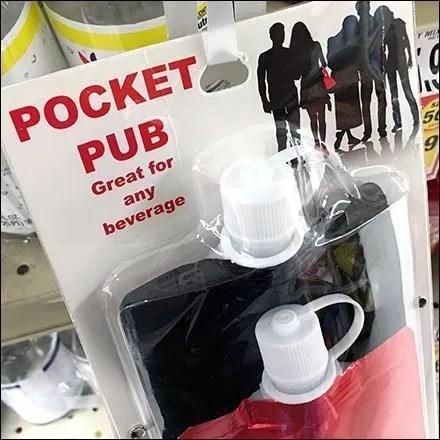 Beverage Pocket-Pub Strip Merchandiser