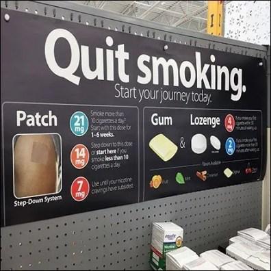 Quit Smoking Inline Gondola Category Definition