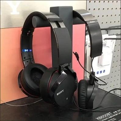 Sony Bi-Directional Headphone Cradles