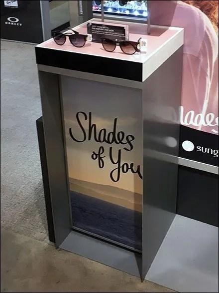 Shades of You Sunglass Hut Merchandising