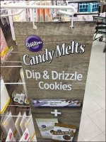 Wilton Candy Melts Aisle Invader Sign
