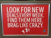 Aldi Deals Brag In-Store Promotion