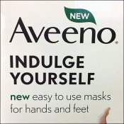 Aveeno Mask Plastic Scan Hook Merchandising