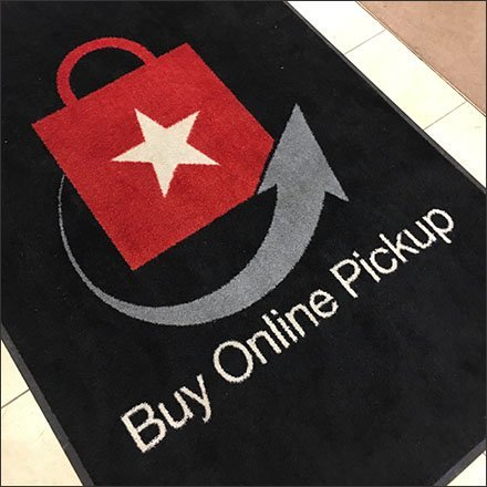 Buy Online Pickup Here Welcome Mat