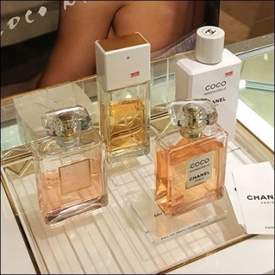 Chanel Coco Mademoiselle Counter-Top Display Aux