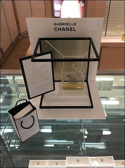 Chanel Gabrielle Counter-Top Spaceframe