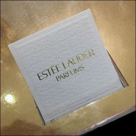 Estee Lauder Branded Perfume Tester Cards