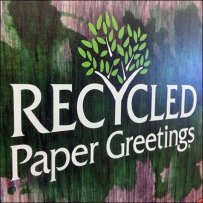 Creative Greeting Recycled Card Inline Display