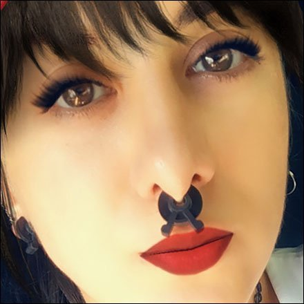 Inventory-Control-Clip Goth Nose Ring Jewelry Feature