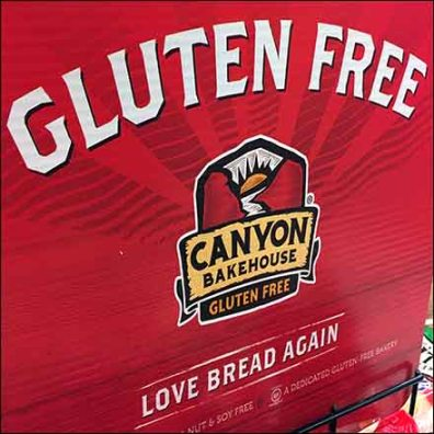 Love Bread Gluten-Free Bakery Rack