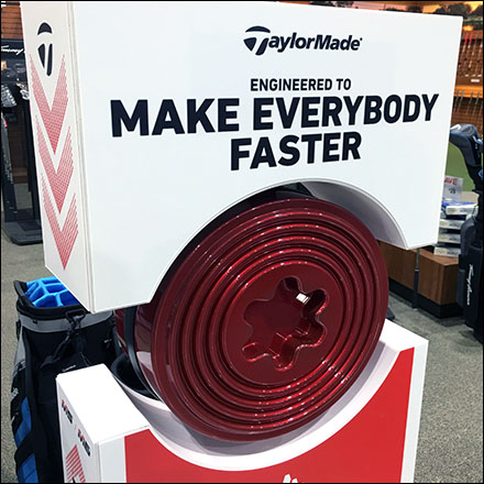 Make Everybody Golf Faster Tagline Display