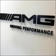 Mercedes Benz AMG Branding Positive-Negative