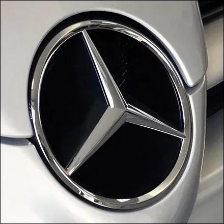 Mercedes Benz Concept Car Wall Art Feature