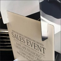 Mercedes Benz Slot-Construction Corrugated Display