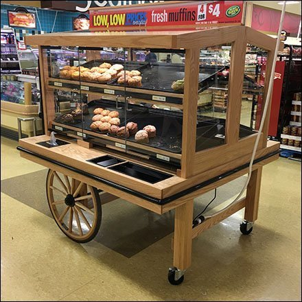 Muffin Wagon Merchandising In-Store